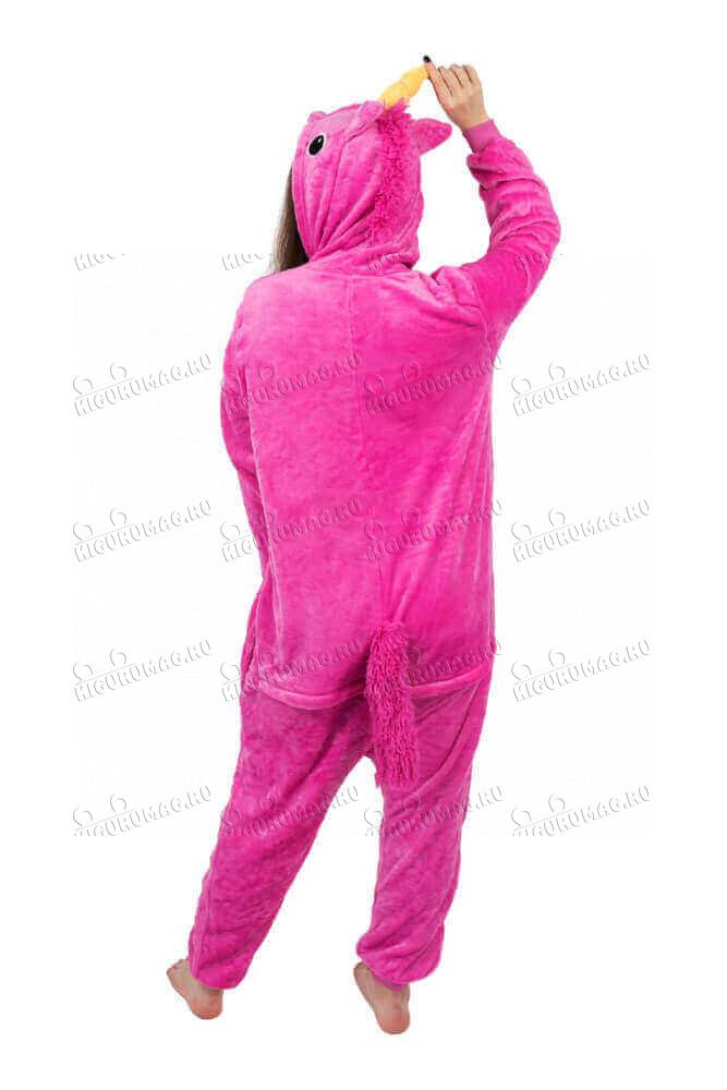 Кигуруми Единорог Розовый - 5