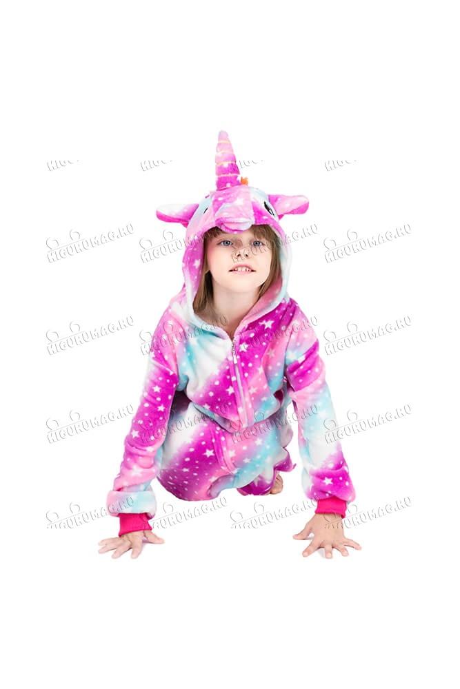 Кигуруми детский Единорог Радужный - 6