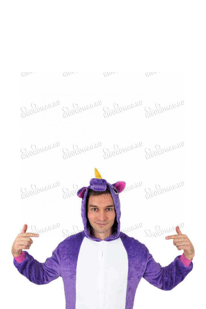 Кигуруми Единорог Фиолетовый - 12