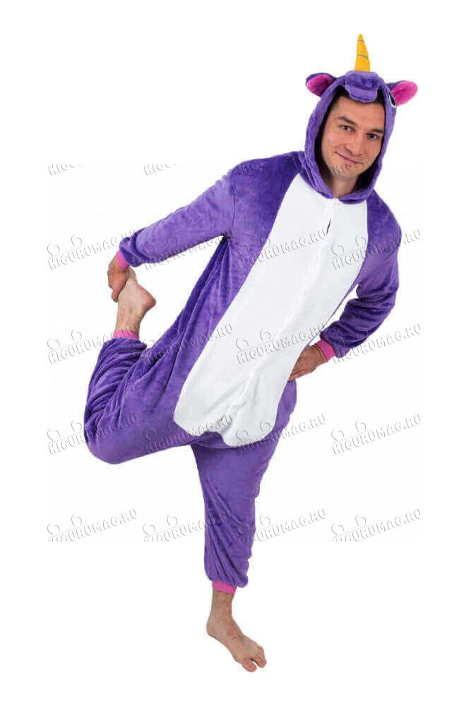 Кигуруми Единорог Фиолетовый - 10