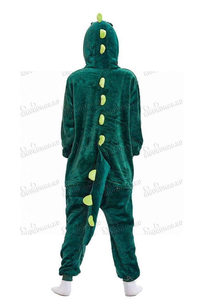 Кигуруми Зеленый динозавр - 7
