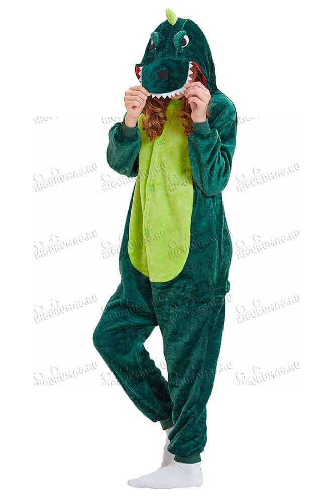 Кигуруми Зеленый динозавр - 5