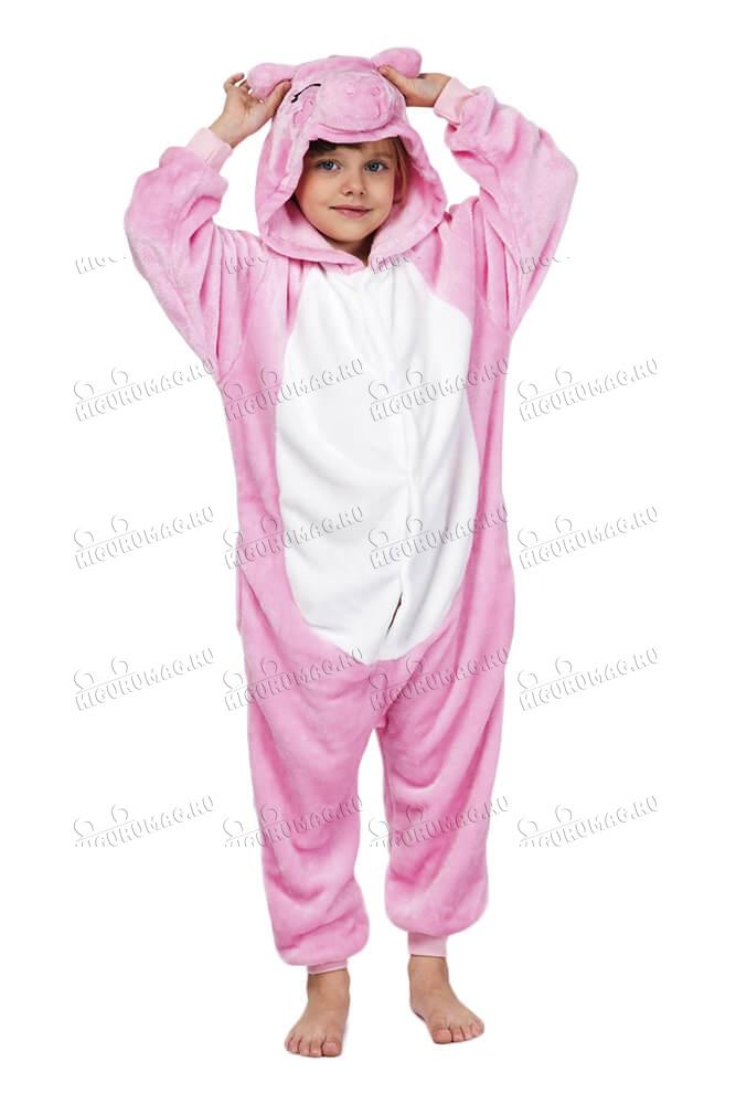 Кигуруми детский Свинка
