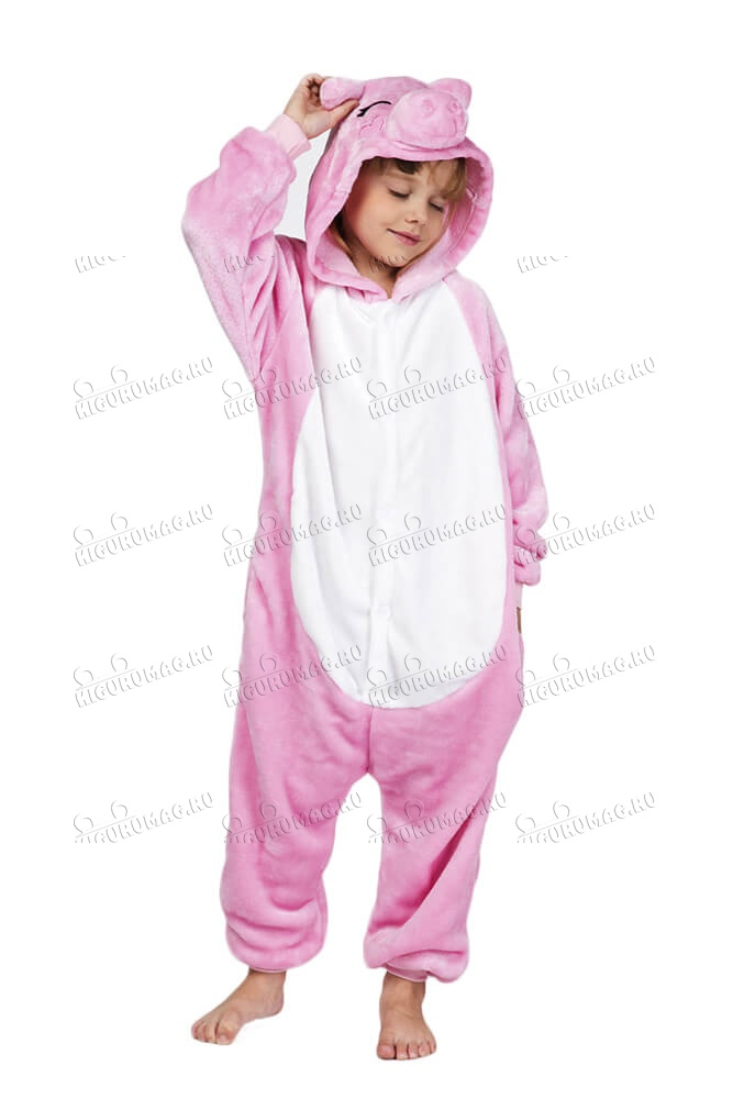 Кигуруми детский Свинка - 3