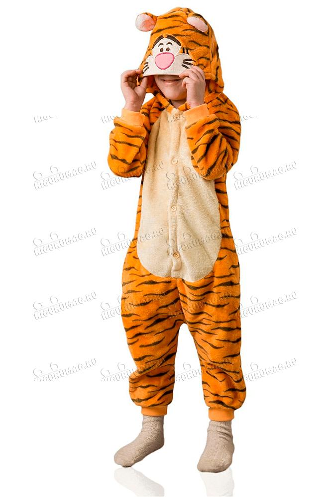 Кигуруми детский Тигр