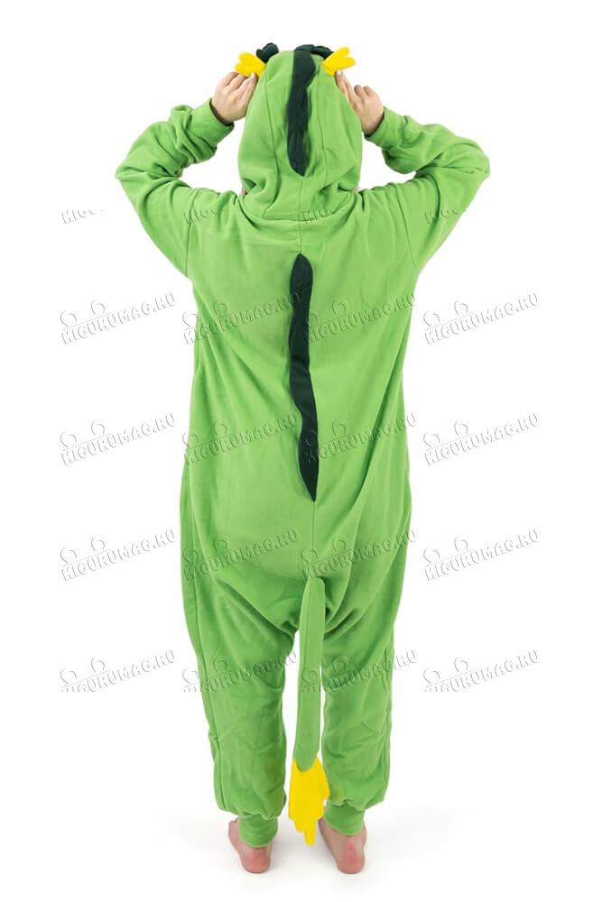 Кигуруми Дракон зеленый - 5