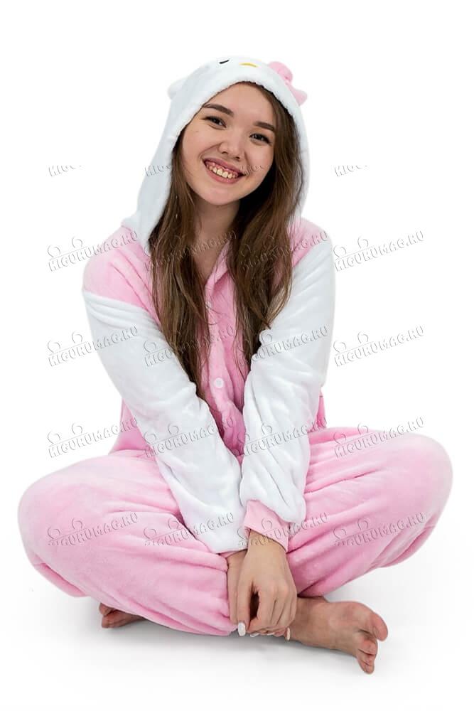 Кигуруми Hello Kitty розовый - 5