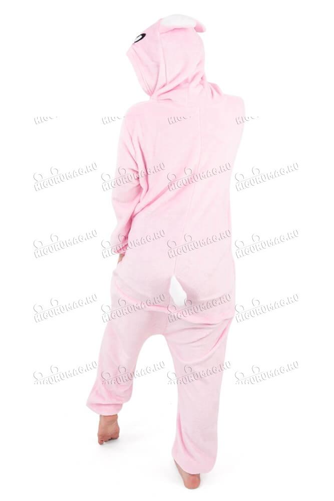 Кигуруми Розовый Кролик - 5