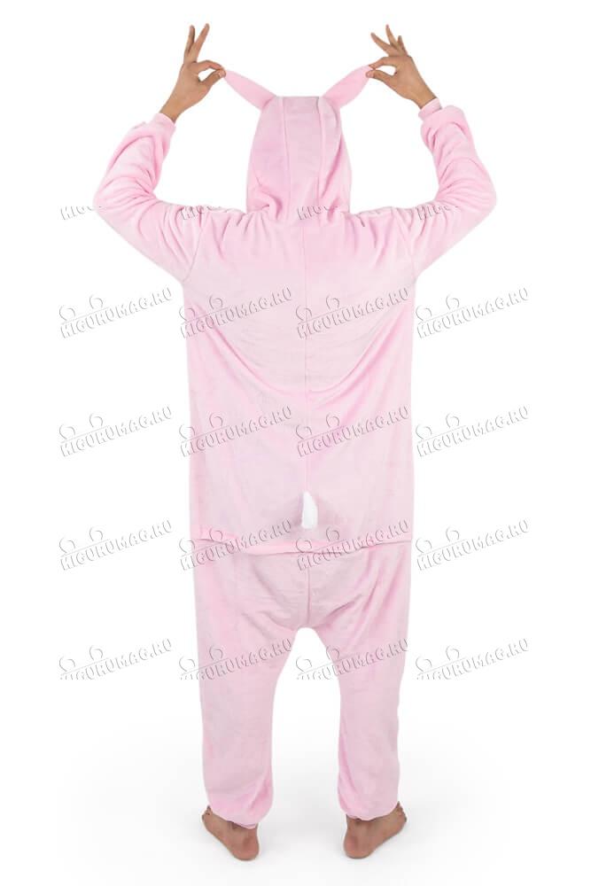 Кигуруми Розовый Кролик - 11