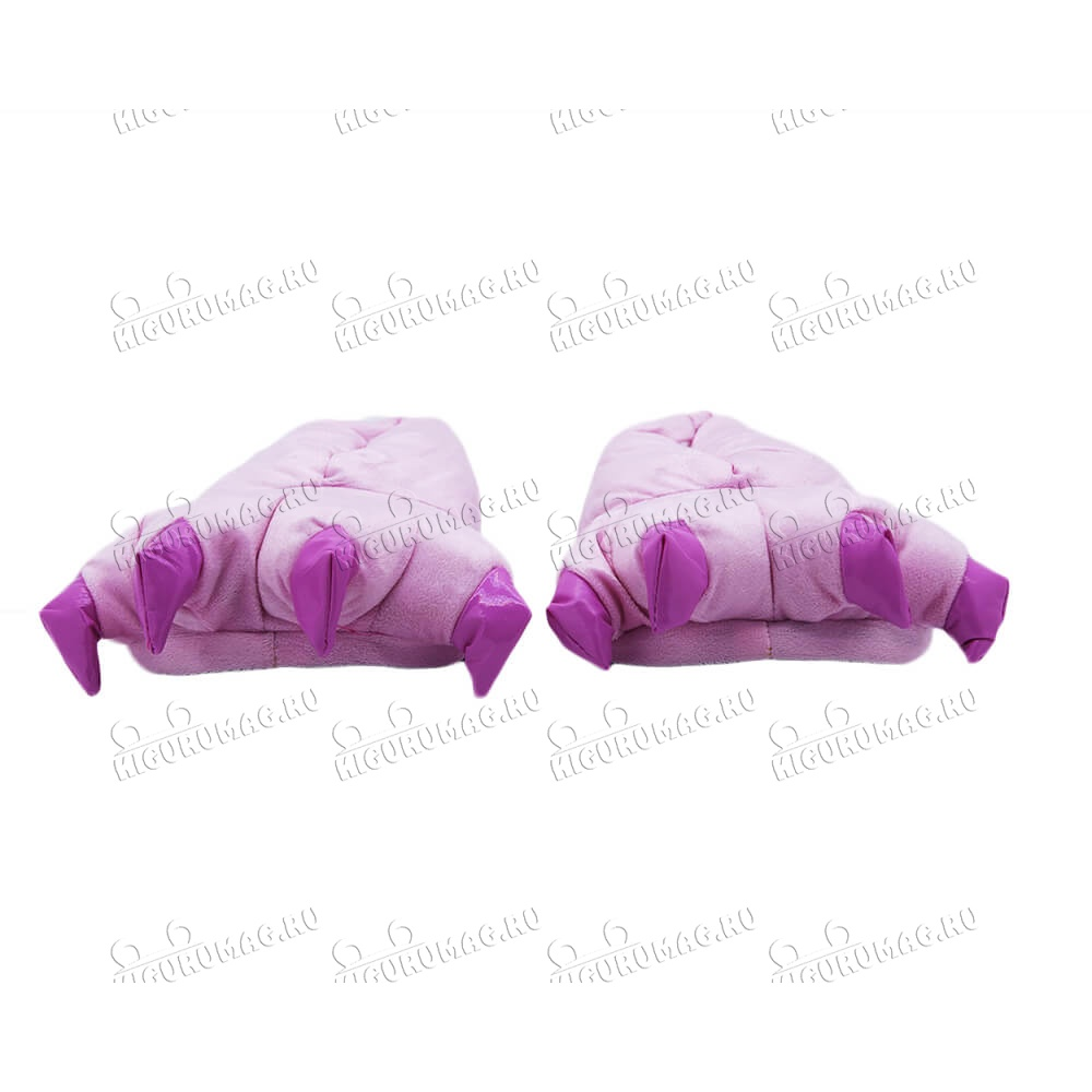 Тапки Лапки розовые M, 35-40 размер - 6