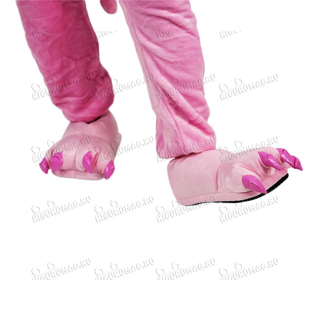 Тапки Лапки розовые M, 35-40 размер - 2